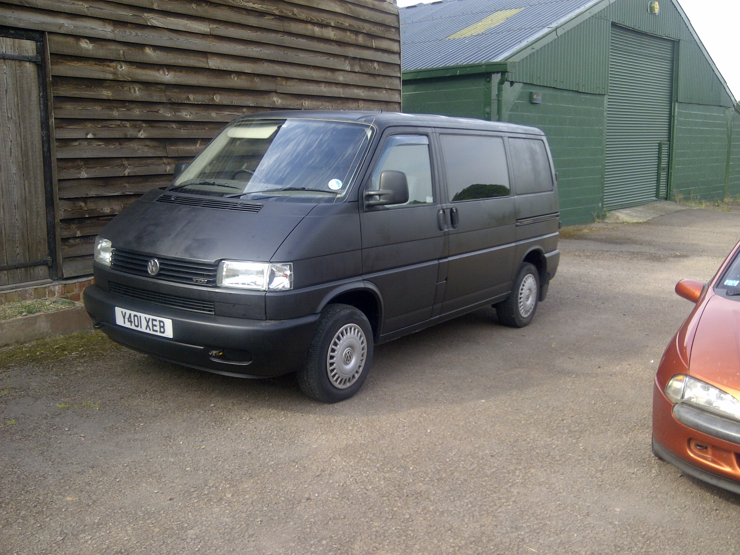 Satin Black VW T4