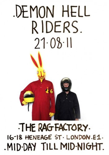 Demon Hell Riders The Rag Factory