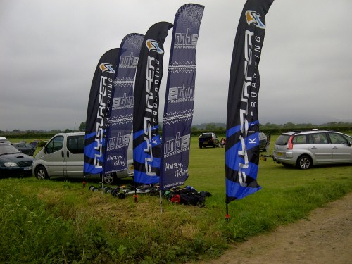 Flysurfer and MBS banners