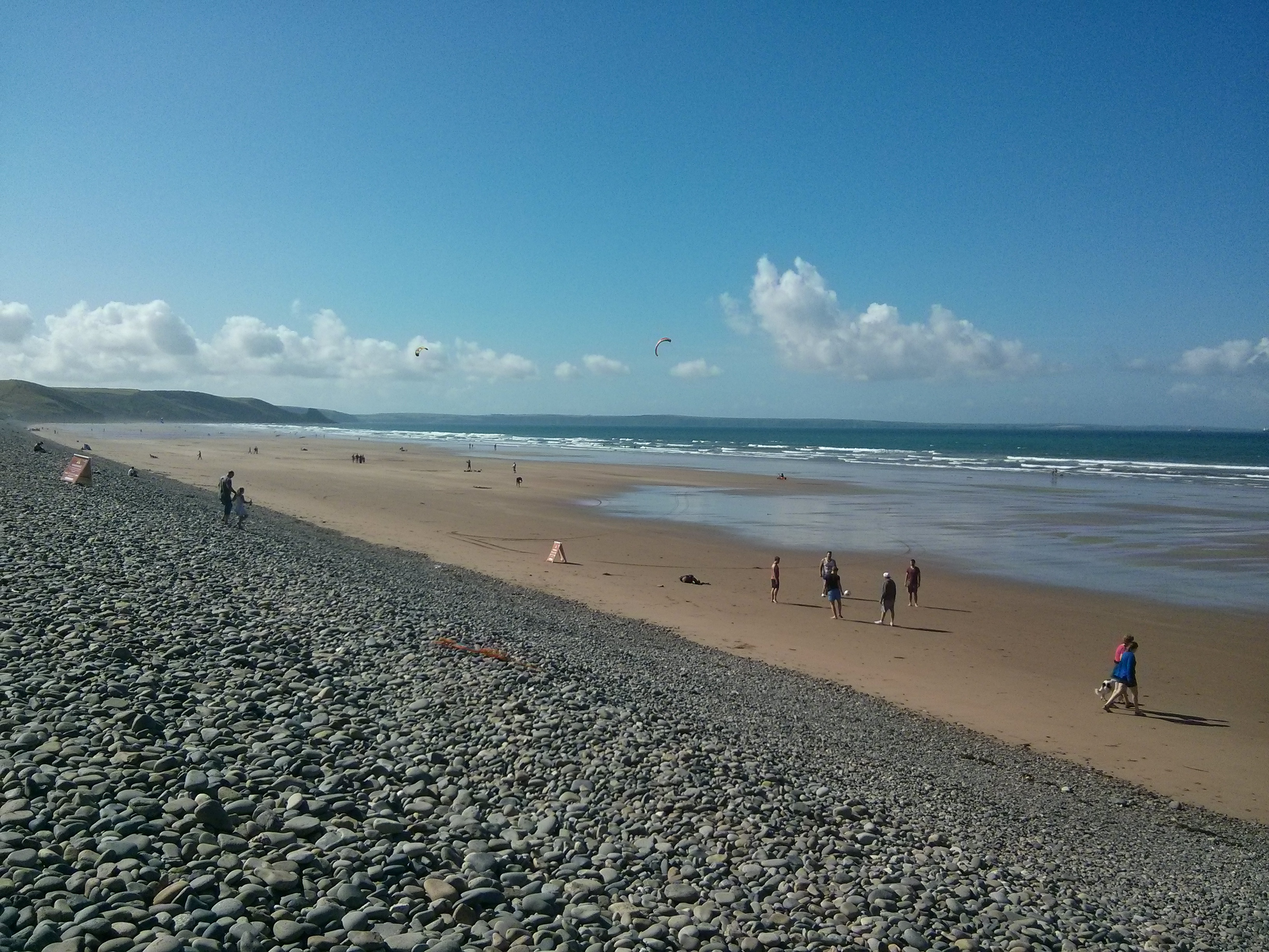 Newgale in August 2013
