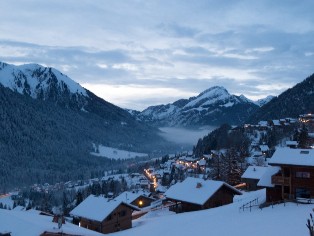 chatel apartment view