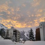 Sunrise in Flaine